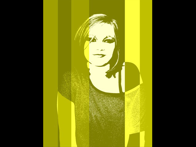 Mariska 0089 Pop Art Girl Lemon
